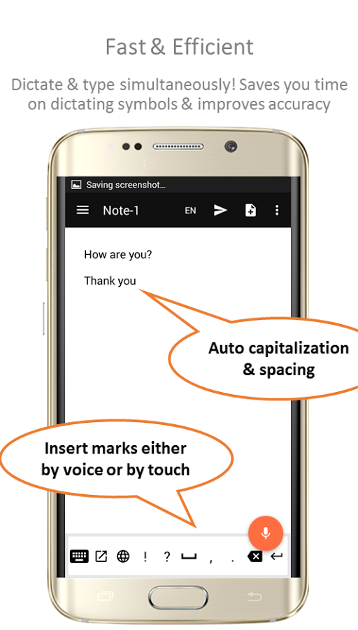 speechnotes dictation app